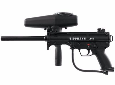 Tippmann A5 rentals at Hogan's Alley